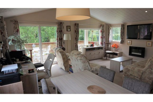 Thumbnail Mobile/park home for sale in Notter Bridge Caravan & Camping Park, Saltash