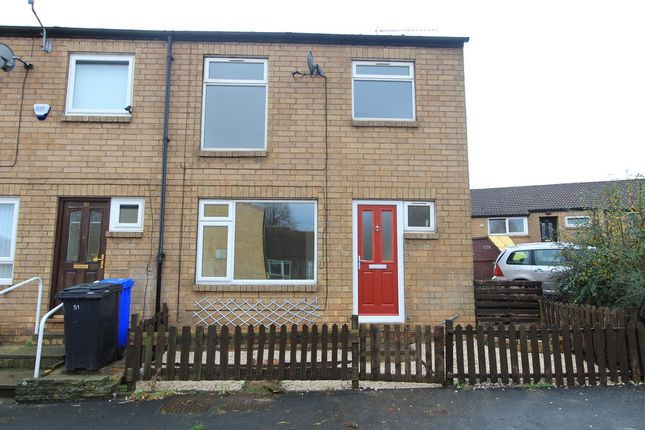 Thumbnail End terrace house to rent in Pedley Avenue, Westfield, Sheffield