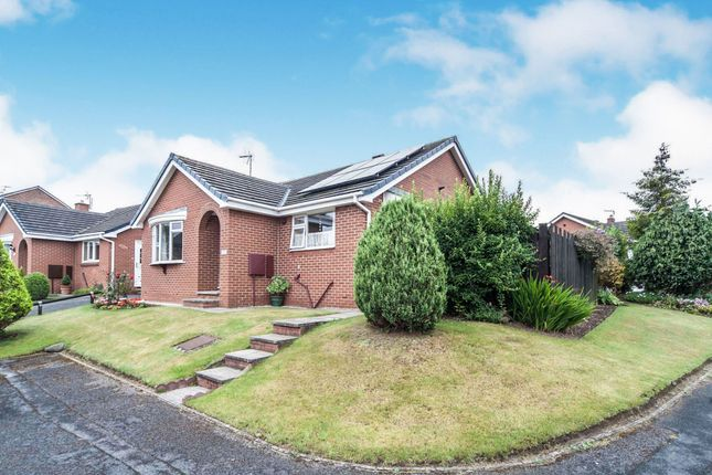 Thumbnail Detached bungalow for sale in Burnston Close, Hartlepool