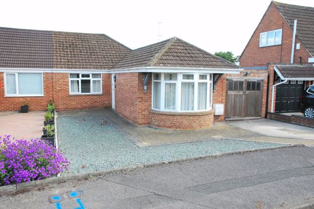 Thumbnail Semi-detached bungalow for sale in Laura Close, Longlevens, Gloucester
