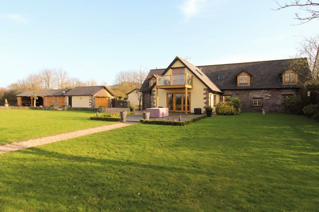Thumbnail Barn conversion for sale in Llangeview, Usk