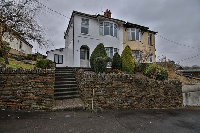 Thumbnail Semi-detached house for sale in Gelli Road, Tredegar