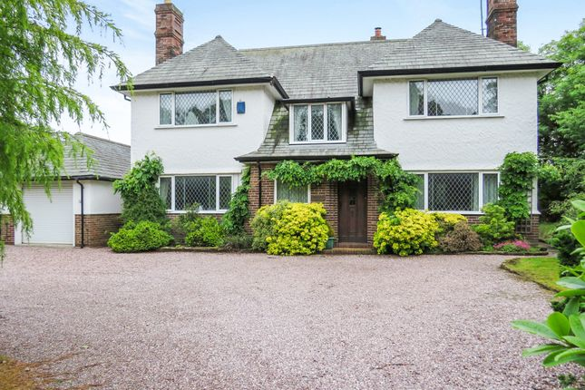 Thumbnail Detached house for sale in Telegraph Road, Caldy, Wirral