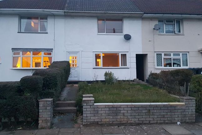 Thumbnail Terraced house to rent in Norbury Road, Birmingham
