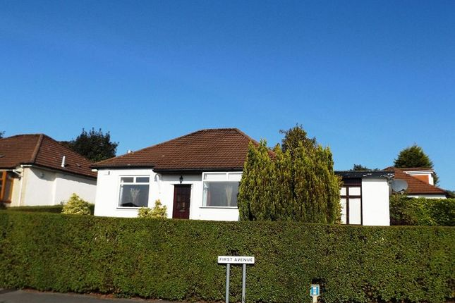 Thumbnail Detached bungalow to rent in First Avenue, Bearsden, Glasgow
