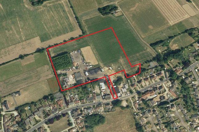 Thumbnail Land for sale in Chapel Street, Shipdham, Thetford