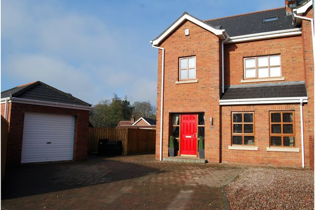 Thumbnail Semi-detached house for sale in Penworth Green, Lisburn