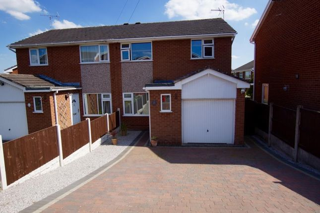 Thumbnail Semi-detached house to rent in Mile Barn Road, Wrexham