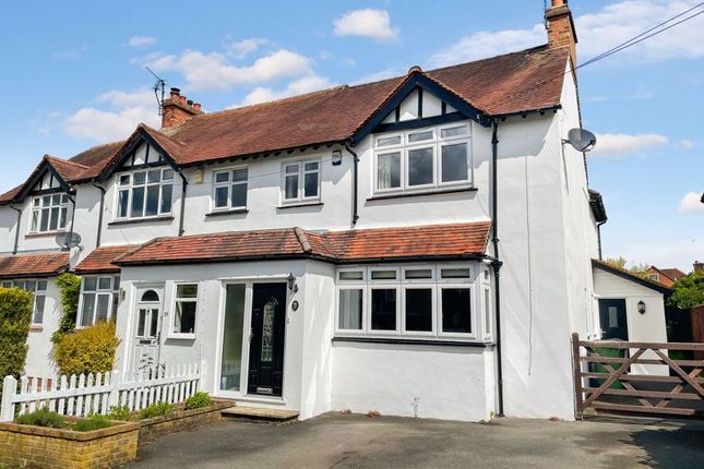 Thumbnail Semi-detached house for sale in The Crescent, High Wycombe