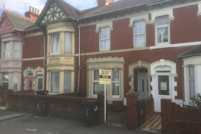 Thumbnail Terraced house to rent in County Road, Swindon