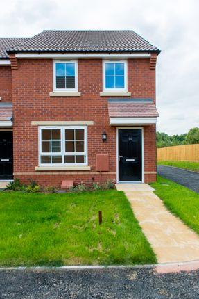 Thumbnail End terrace house for sale in Plot 23, 24 Hopkins Field, Creech St Michael, Taunton, Somerset