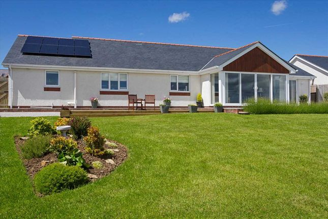 Thumbnail Detached bungalow for sale in Delfryn, Carmel, Anglesey