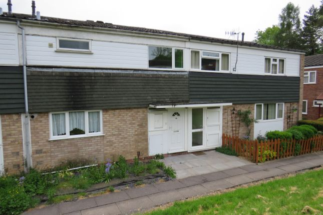 Thumbnail Terraced house to rent in Astley Close, Redditch