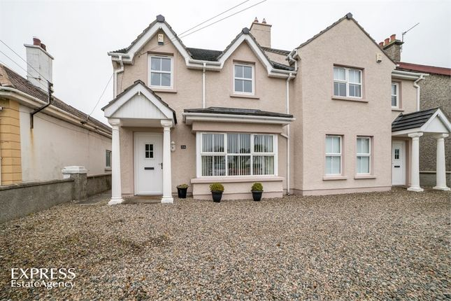 Thumbnail Semi-detached house for sale in Ballywillin Road, Portrush, County Antrim