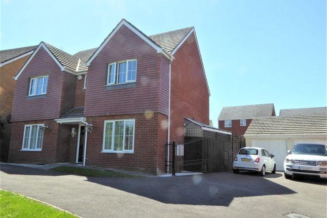 Thumbnail Detached house for sale in Heol-Y-Fronfraith Fawr, Bridgend, Bridgend County.