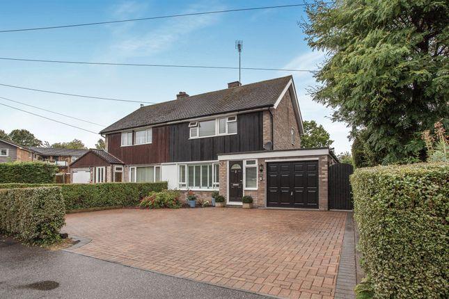 Thumbnail Semi-detached house for sale in Palmers Close, Linton, Cambridge
