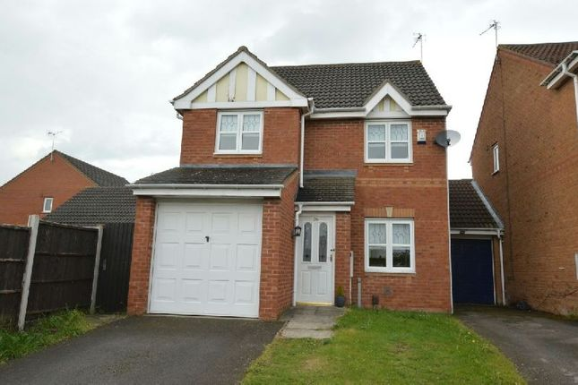 Thumbnail Detached house for sale in Impey Close, Thorpe Astley, Leicester