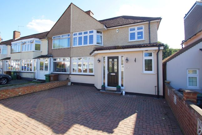 Thumbnail End terrace house for sale in Rowley Avenue, Sidcup