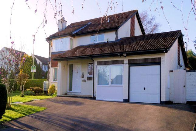 Thumbnail Detached house for sale in Huxley Close, Locks Heath, Southampton