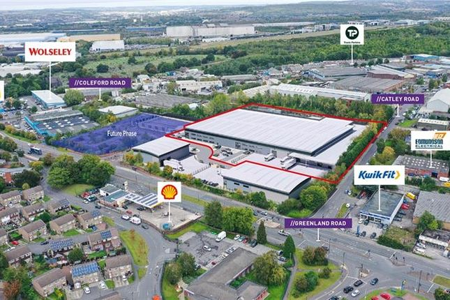 Thumbnail Light industrial to let in Units 1A & 1B, Greenland Trade Park, Greenland Road, Darnall, Sheffield, South Yorkshire