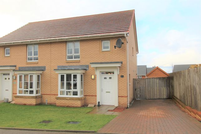 Thumbnail Semi-detached house for sale in Heatherbell Road, Coatbridge