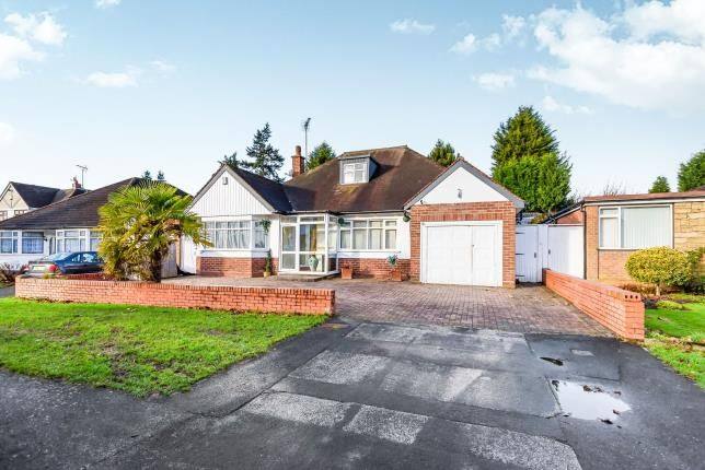 Thumbnail Bungalow for sale in Cornwall Road, Walsall, West Midlands, .