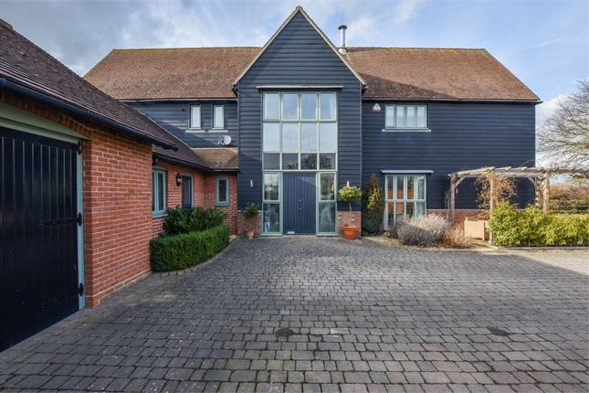 Thumbnail Detached house for sale in Orchard Barn, Beehive Close, East Bergholt, Colchester, Suffolk