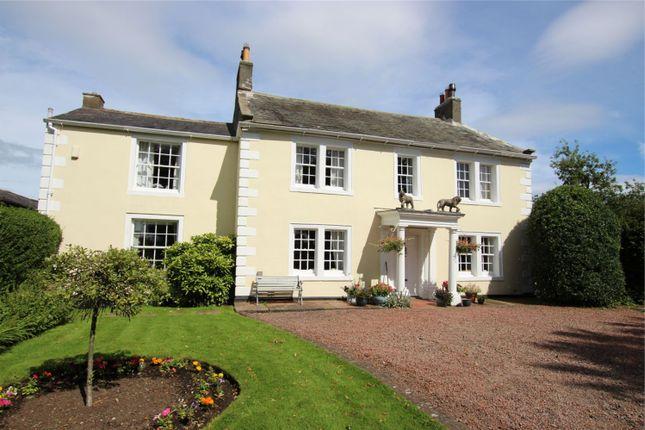 Thumbnail Detached house for sale in Knockupworth Hall, Burgh Road, Carlisle, Cumbria