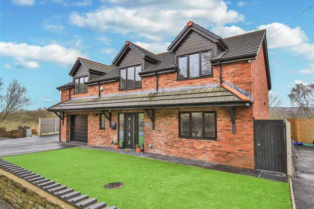 Thumbnail Detached house for sale in Felinfach, Colliery Road, Bedwas, Caerphilly
