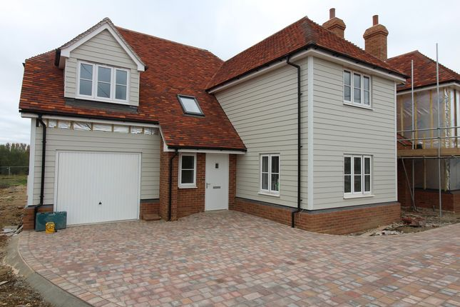 Thumbnail Detached house for sale in Brick Kiln Lane, Bran End, Stebbing