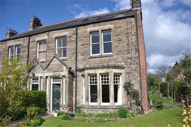 Thumbnail Semi-detached house for sale in Greencroft Avenue, Corbridge, Northumberland