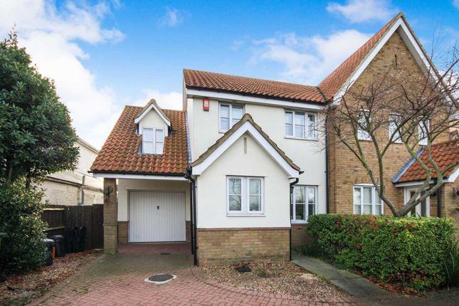Thumbnail Semi-detached house for sale in Wash Road, Laindon, Basildon