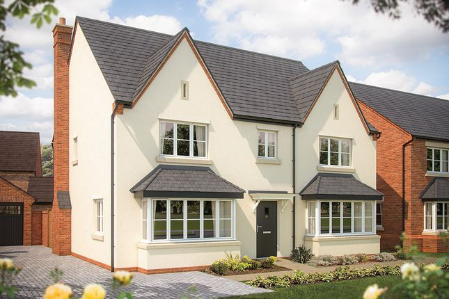 "Thumbnail Detached house for sale in ""The Ascot"" at Heyford Park, Camp Road, Upper Heyford, Bicester"