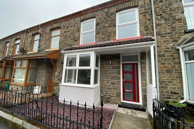 4 bed terraced house for sale in Sherwood Street, Tonypandy CF40