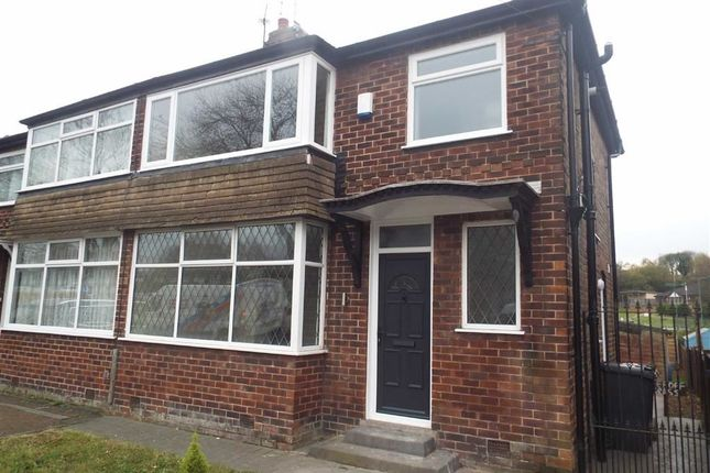 Thumbnail Semi-detached house to rent in 58, Heys Road, Prestwich