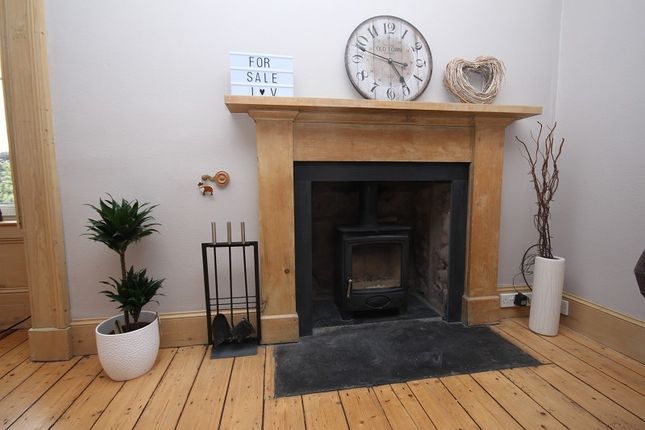 Lounge Fireplace of 8B Millburn Road, Millburn, Inverness IV2