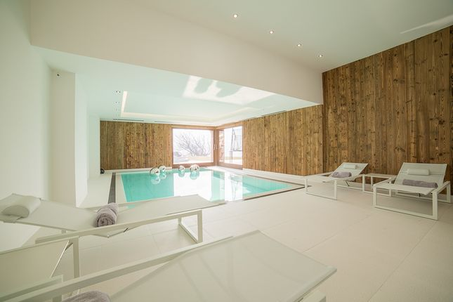Swimming Pool of Megeve, Rhones Alps, France