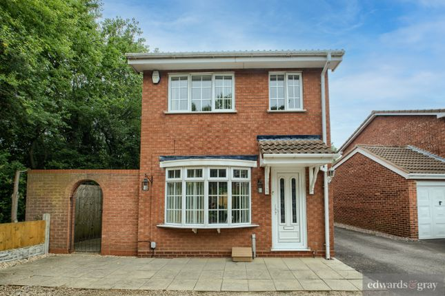 Thumbnail Detached house for sale in Whittleford Grove, Castle Bromwich, Birmingham
