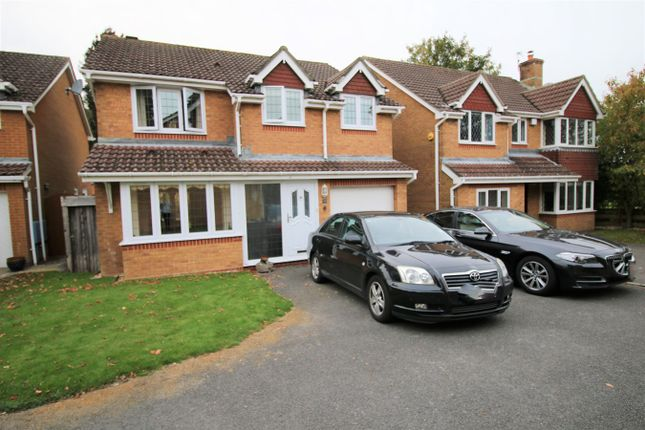 Thumbnail Detached house to rent in Wood Close, Basingstoke