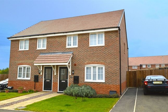Thumbnail Semi-detached house to rent in Cowley Meadow Way, Crick, Northamptonshire