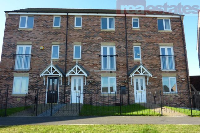 Thumbnail Terraced house to rent in Dixon Way, Coundon, Bishop Auckland