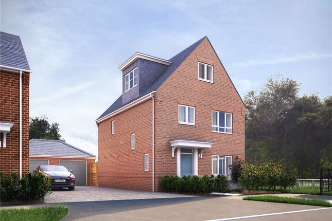 Thumbnail Detached house for sale in Newbridge, Fair Oak, Mortimers Lane, Fair Oak