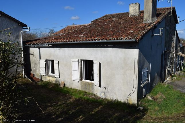 2 bed property for sale in Champagne-Mouton, Poitou-Charentes, 16350, France