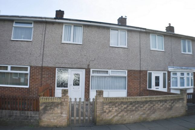 Thumbnail Terraced house to rent in Woolsingham Gardens, Wreckenton