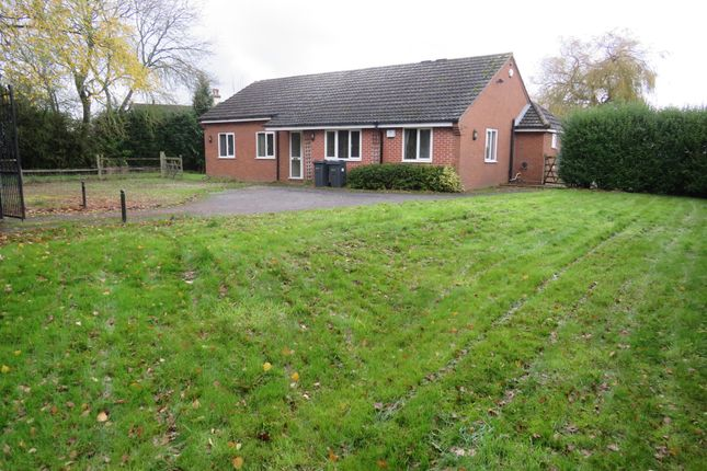 Thumbnail Detached bungalow for sale in Bulls Lane, Wishaw, Sutton Coldfield