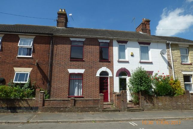 Thumbnail Terraced house to rent in Denmark Road, Beccles