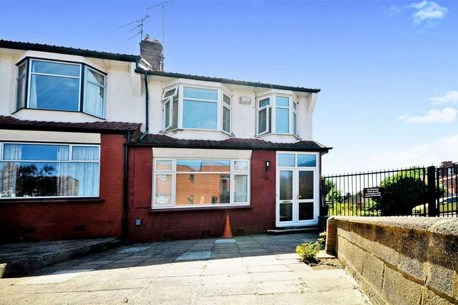 Thumbnail End terrace house for sale in Bexhill Road, Arnos Grove, London