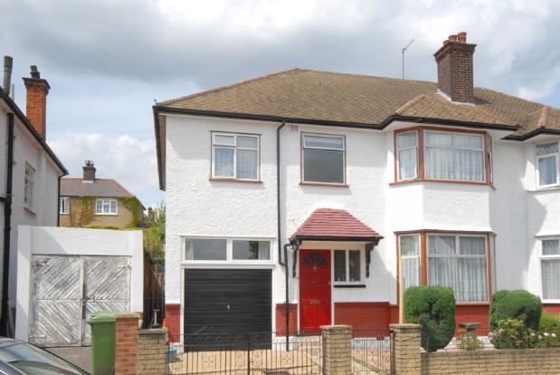 Thumbnail Semi-detached house to rent in Dollis Hill Avenue, London