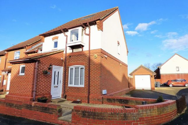 Thumbnail End terrace house for sale in Woodbine Close, Abbeymead, Gloucester