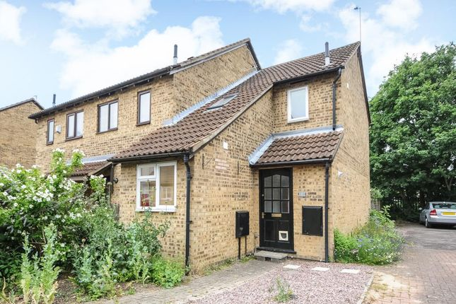 Thumbnail End terrace house to rent in Broadfields, Oxford